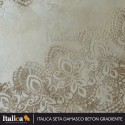 Декоративное покрытие Seta damasco, 3кг золотая